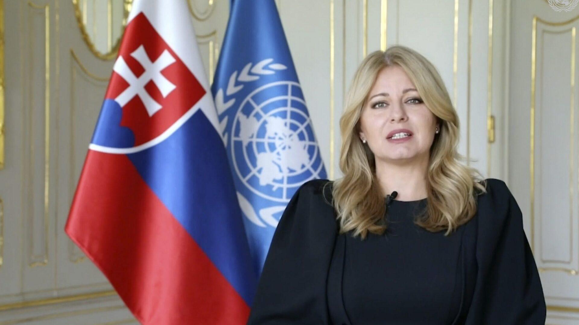 Zuzana Čaputová OSN
